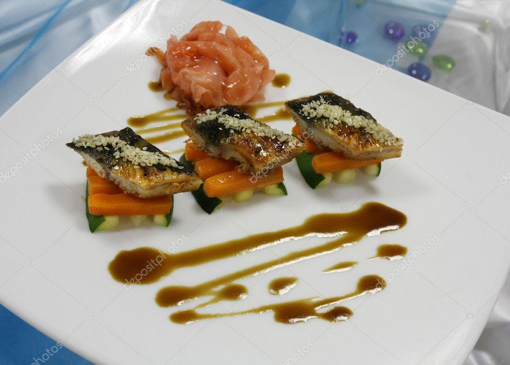 Холодны закуски з риби фото