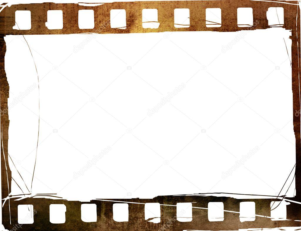 Grunge Film Frame Effect Stock Photo Ilolab 4207913