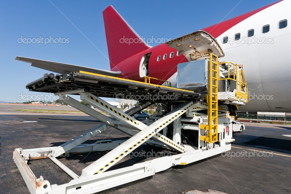 Loading to the aircraft photo by Chalabala on Envato Elements