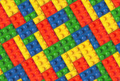 Color Lego background texture
