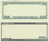 jasná 100 dolarové bankovky vzor