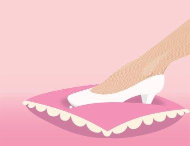 Wedding fancy shoe