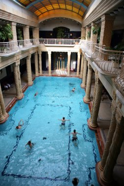 Bathhouse in Budapest