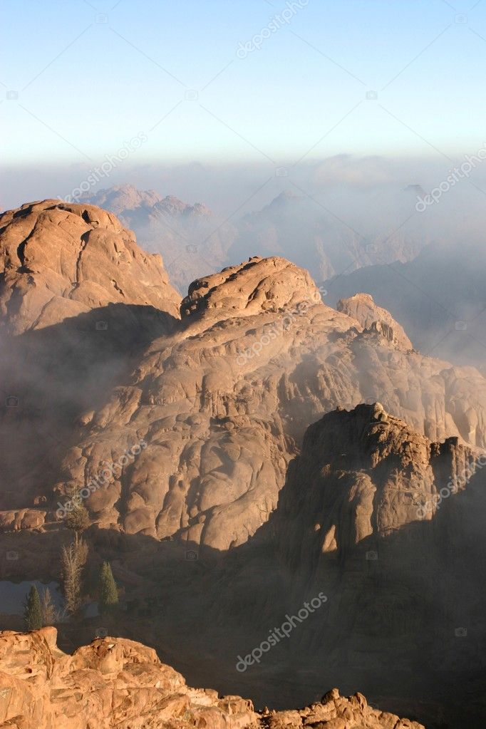Sunrise from the Mt.Sinai