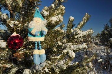 Santa claus and toys, Christmas