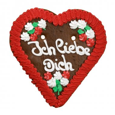 Heart cookie from Germany