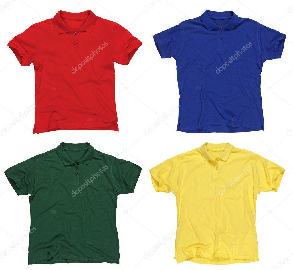 e0159436a8db κενό πόλο μπλουζάκια — Φωτογραφία Αρχείου © sumners  4519344