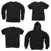 Prázdné černé oblečení