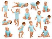 Collection of a baby boys behavior