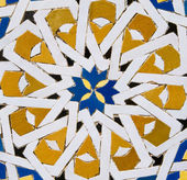 Photo Traditional Moroccan tile pattern