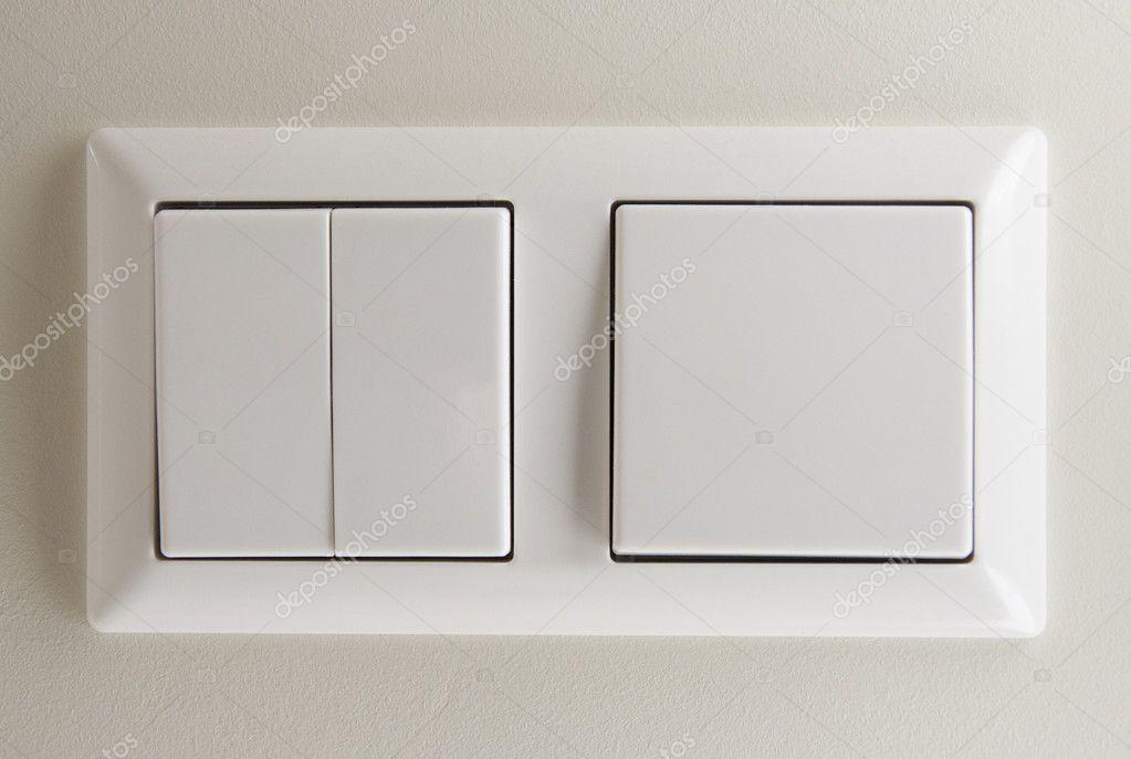 zwei Lichtschalter — Stockfoto © Pupkis #4635436