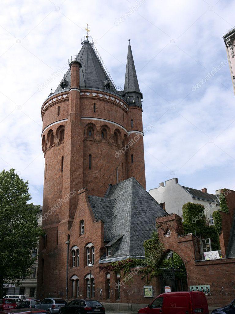 Водонапорная башня в берлине жилой дом