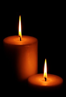 Two Burning candle