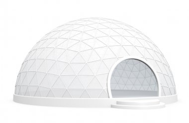 Exhibition dome tent