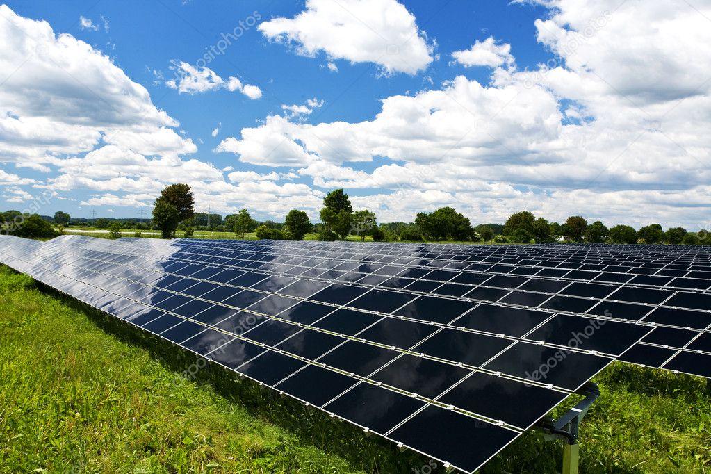 Pannello solare energia tecnologia foto stock for Immagini pannello solare