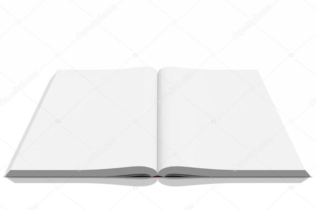 Couverture De Livre 3d Vide Vide Photographie Oxfordsquare