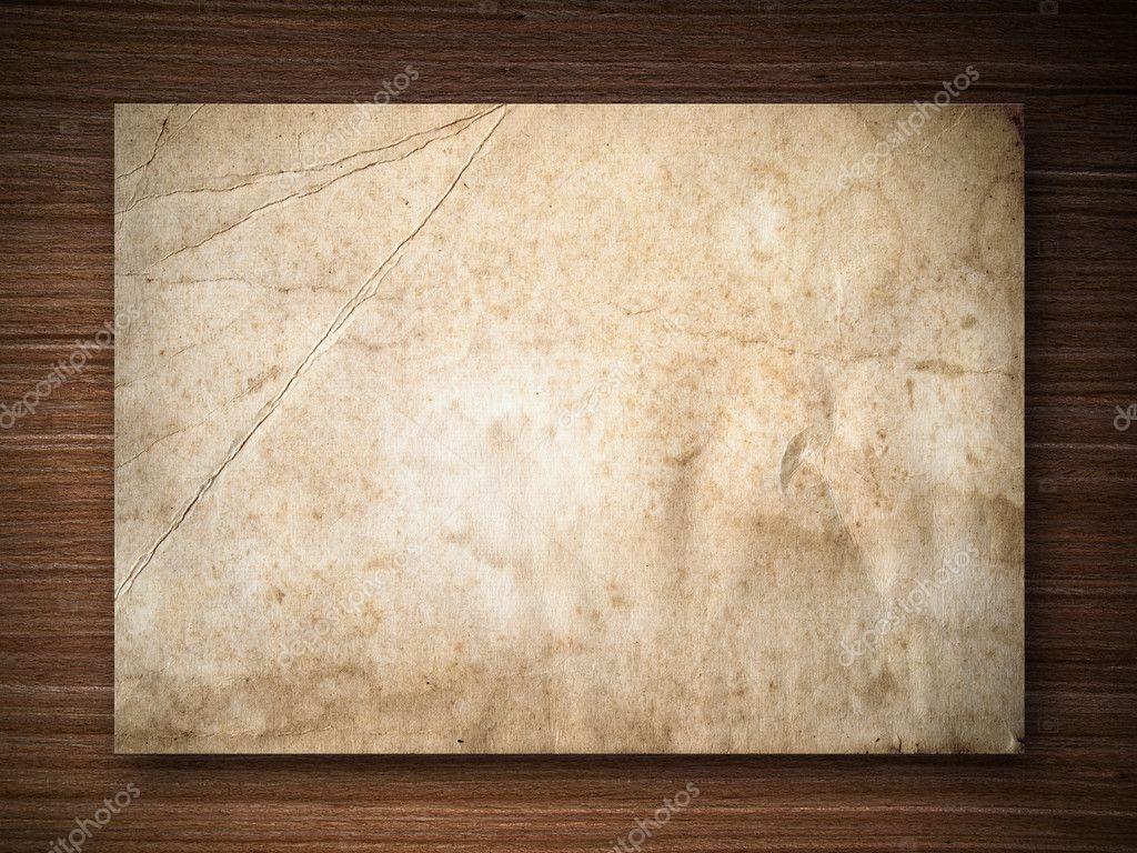 Paper on Oak wood