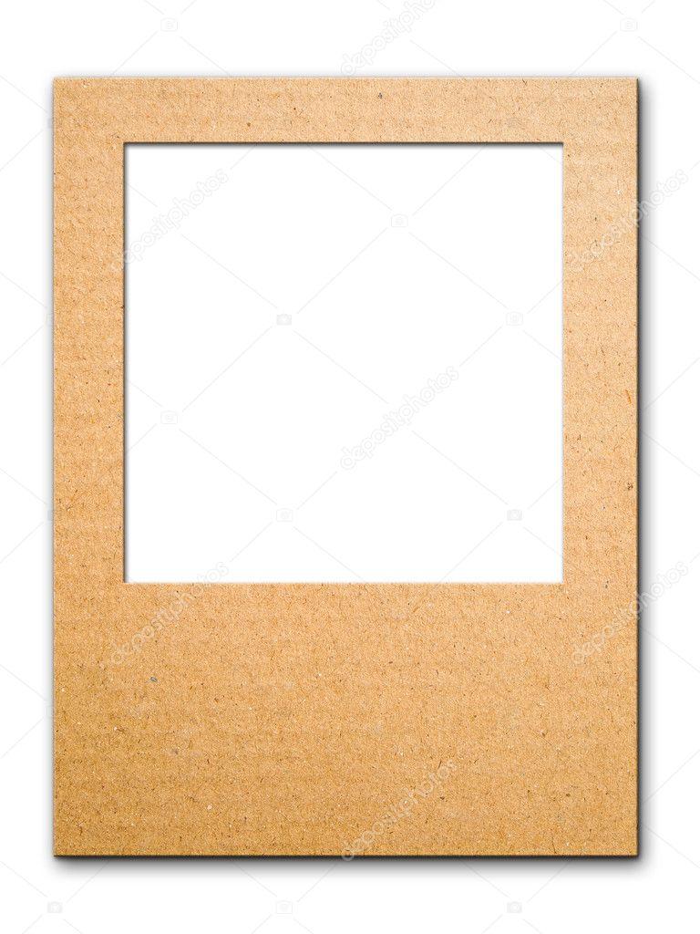Papier-Fotorahmen für Webhintergrund — Stockfoto © nuttakit #4163689
