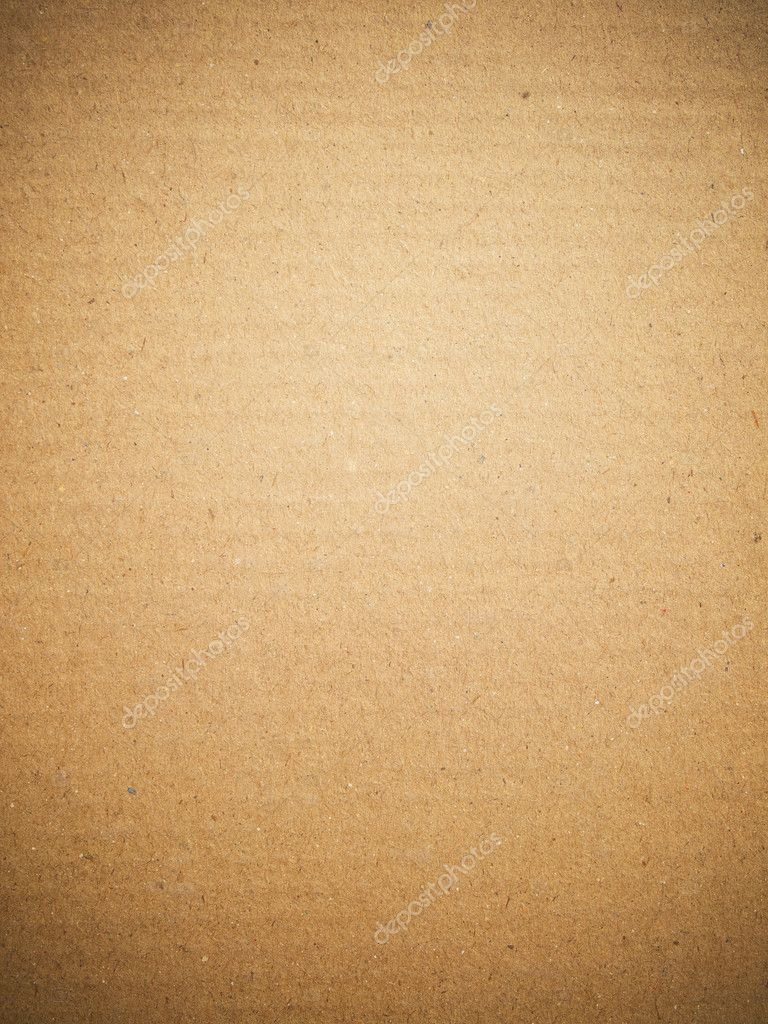 Brown paper card board