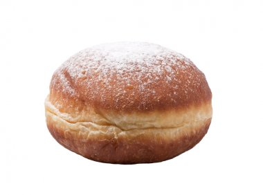 Doughnut with pouderd sugar