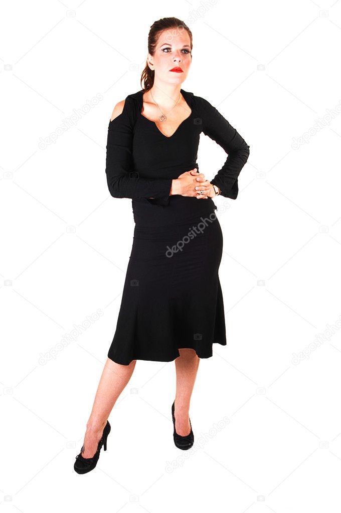 in sucher abito Stock nero ragazza Foto bella 4714586 © z5wxq47n6A
