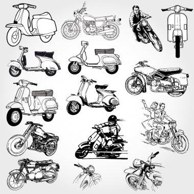 Motorcycle set
