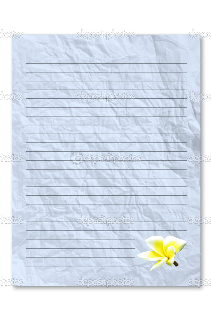 blue letter paper — stock photo © pixbox77 #3965089