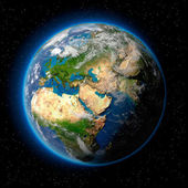 Photo Earth in Space