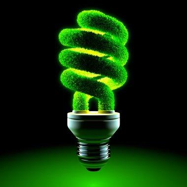 Green energy-saving lamp