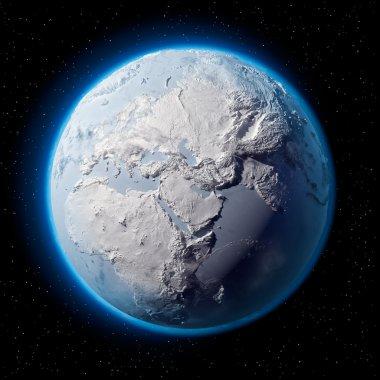 Snow Planet Earth