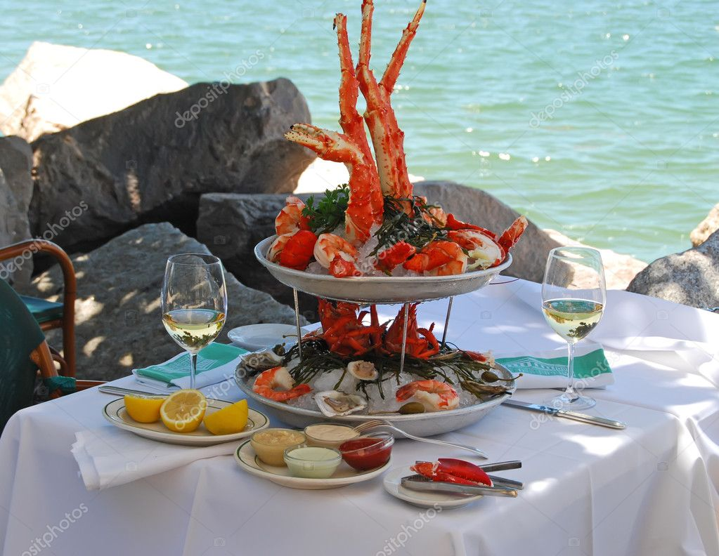 Seafood Buffet for Two