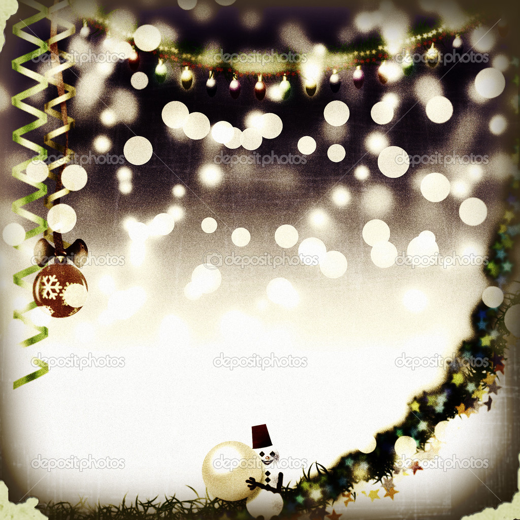 weihnachts-fotorahmen — Stockfoto © Rowdy79 #4392743