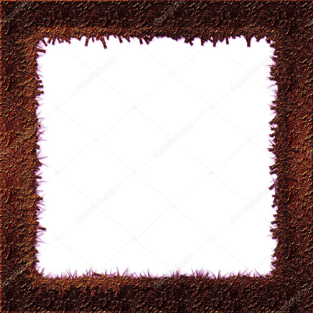 Grunge-Fotorahmen mit Herz — Stockfoto © Rowdy79 #5015836