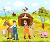 Niedlicher Bauernhof