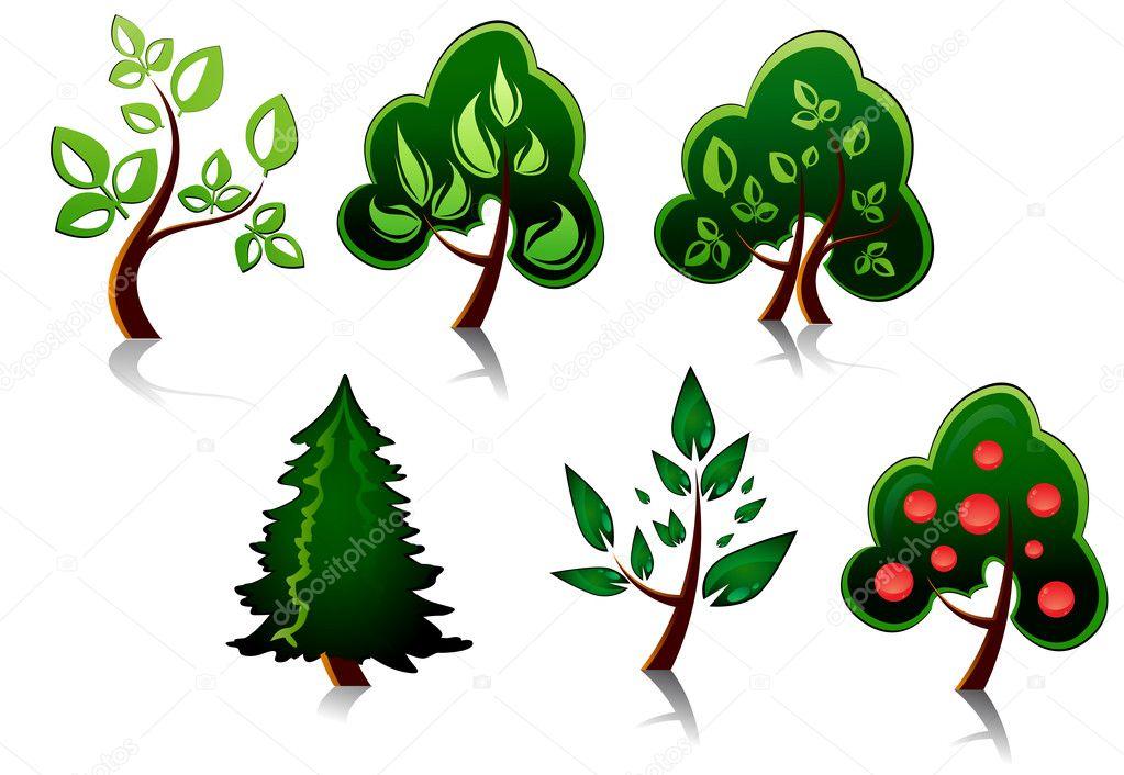 Условное обозначение дерево картинка