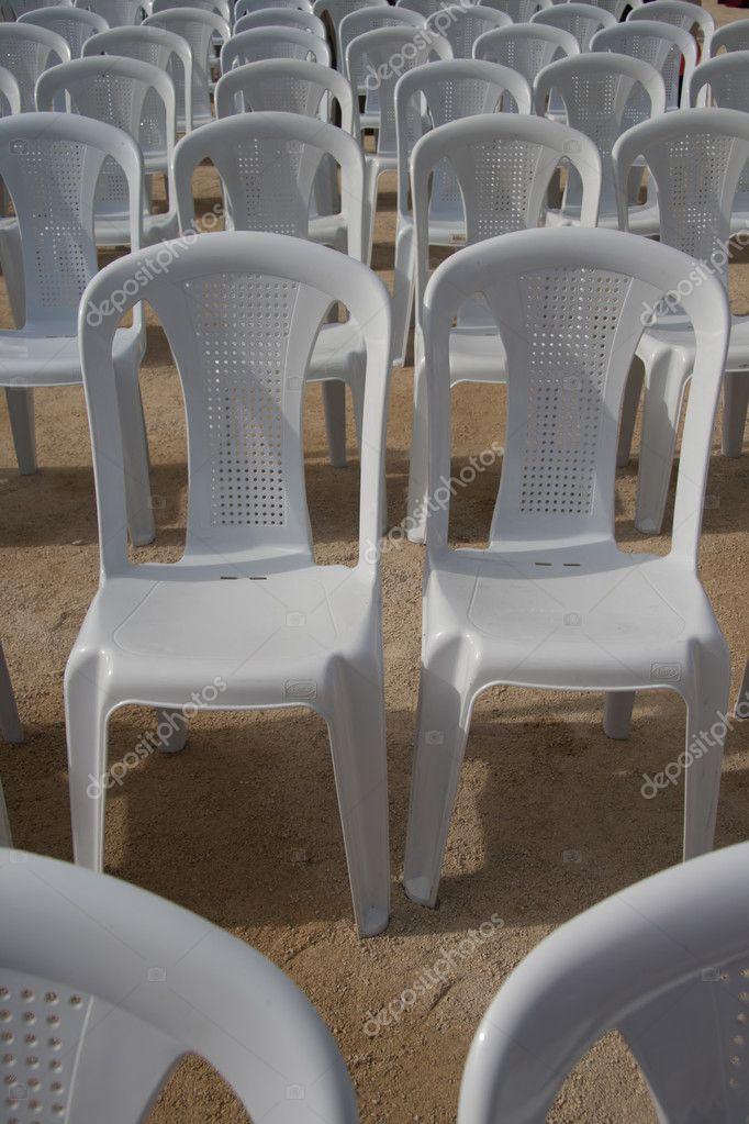 Kunststoff Stühle Stockfoto Hskoken 4259930