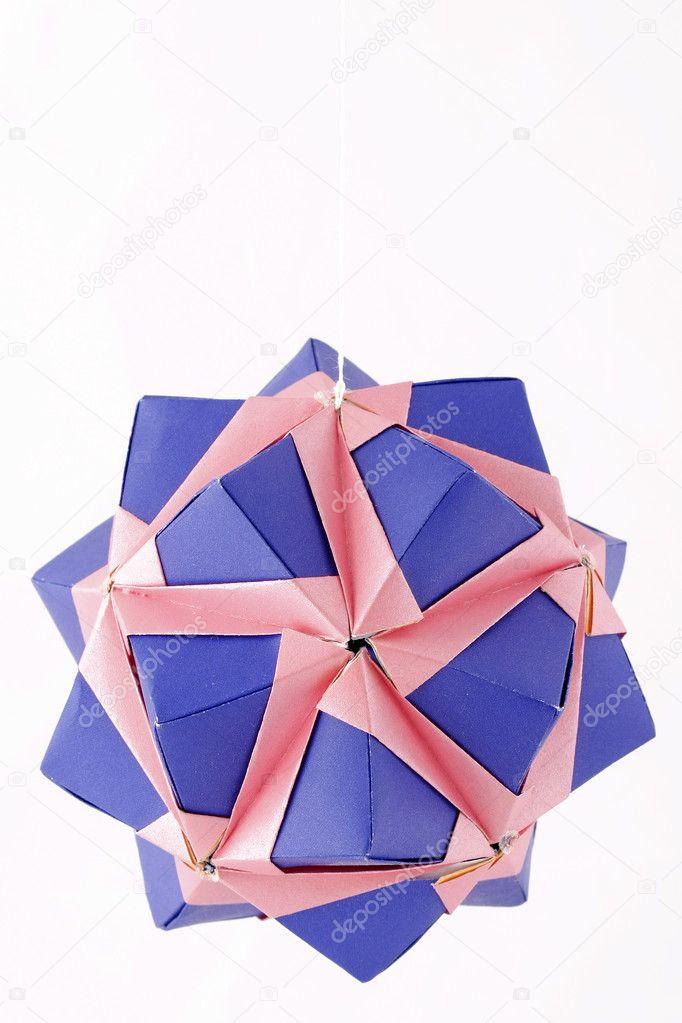 Handmade Origami Kusudama Paper Ball Stock Photo Arsentev82 4244161