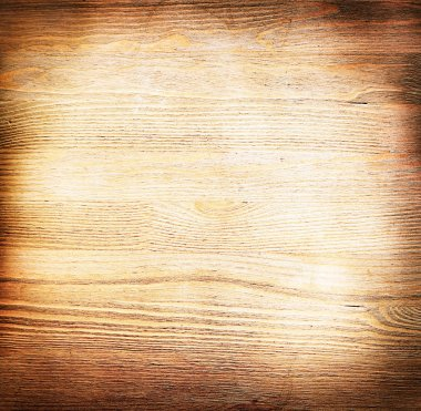 Image of background in the form of an old wooden surface