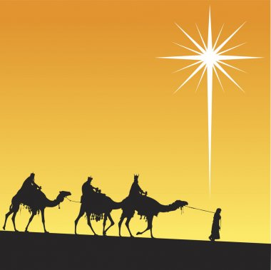 Shining star of Bethlehem.