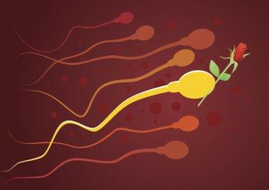 Gentleman sperm.