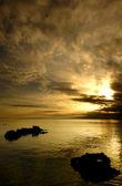 Fotografie zlaté slunce