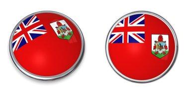 Banner Button Bermuda
