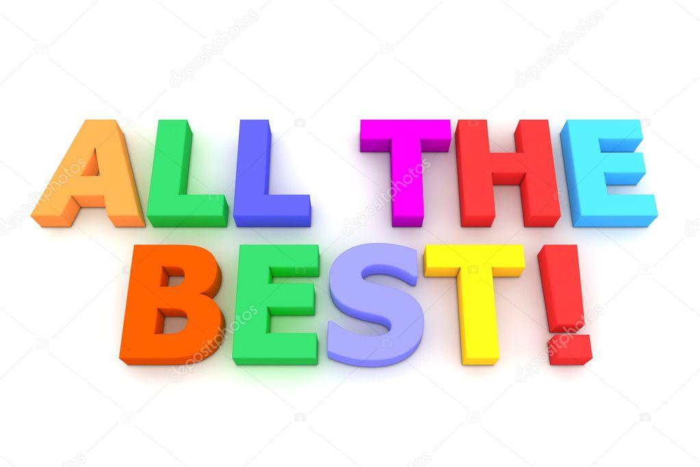 foto de Colourful All The Best Stock Photo © PixBox #4080727