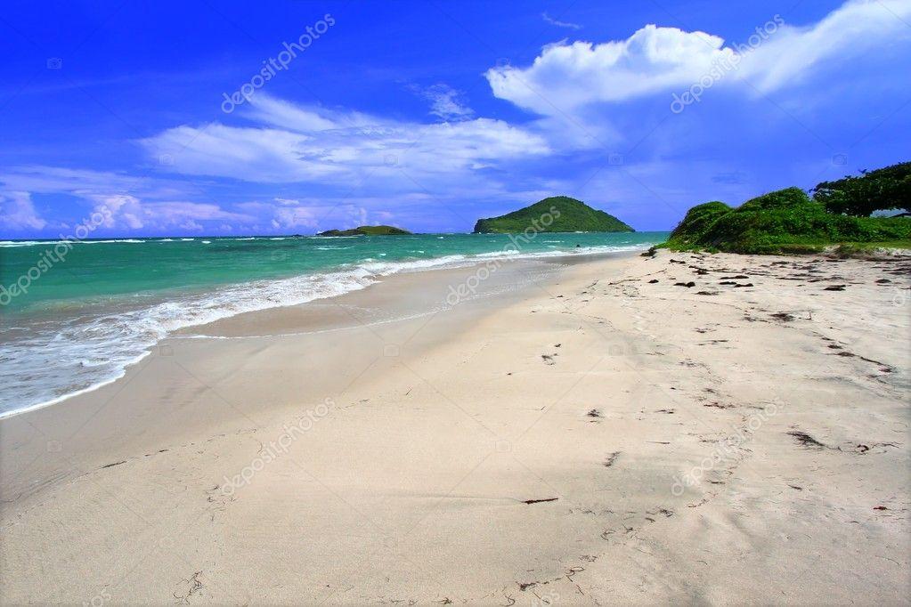 Strand von anse de sables saint lucia stockfoto for 2533 raumgestaltung und entwerfen