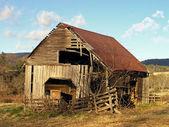 Fotografie stará stodola
