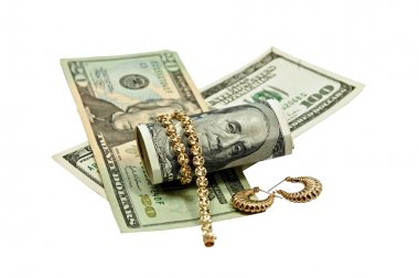 Cash for Gold Jewlery Concept