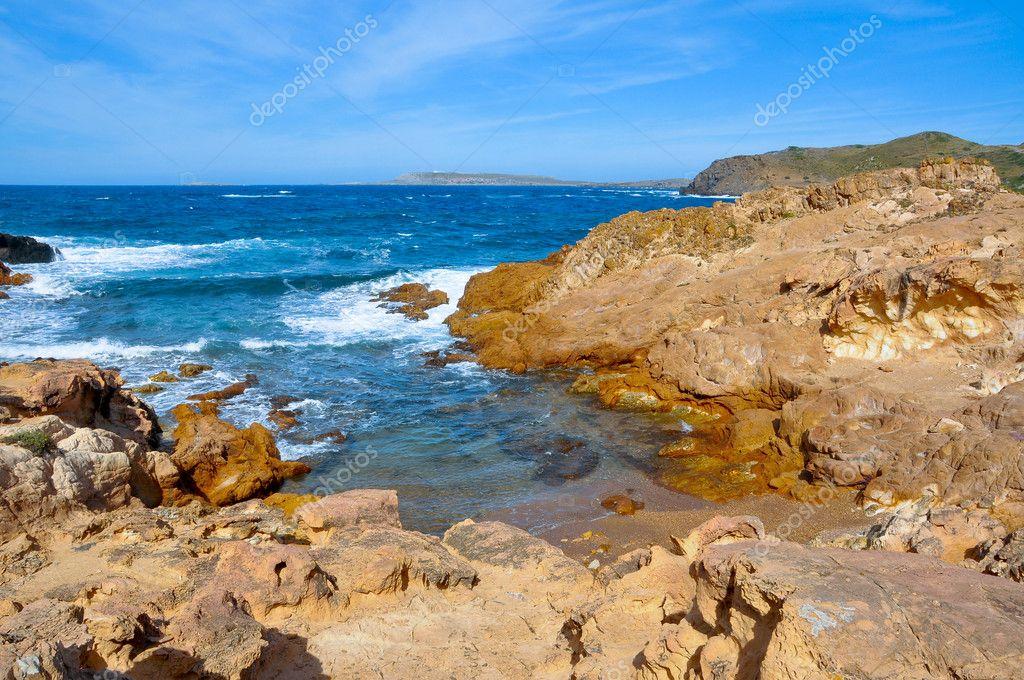 Petite Calanque à Minorque îles Baléares Espagne Photographie