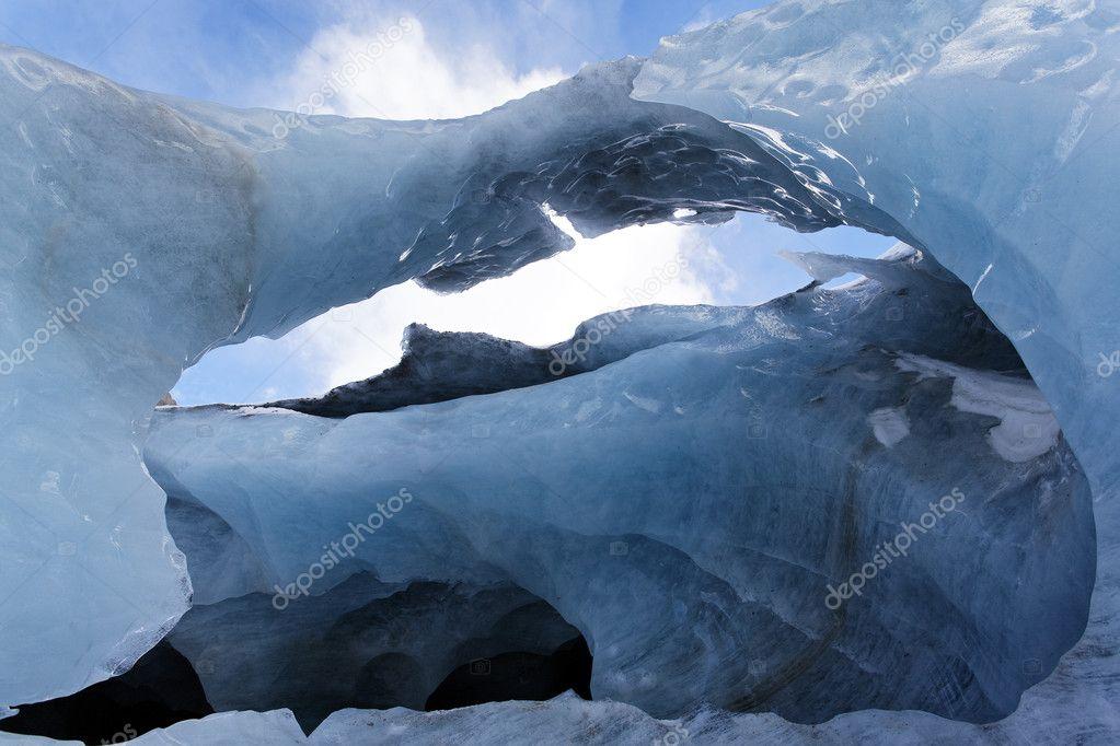Glacier door