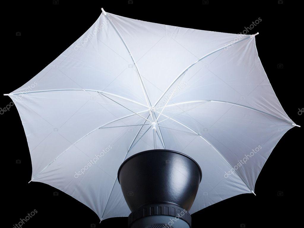 Ombrello di illuminazione u foto stock claudiodivizia