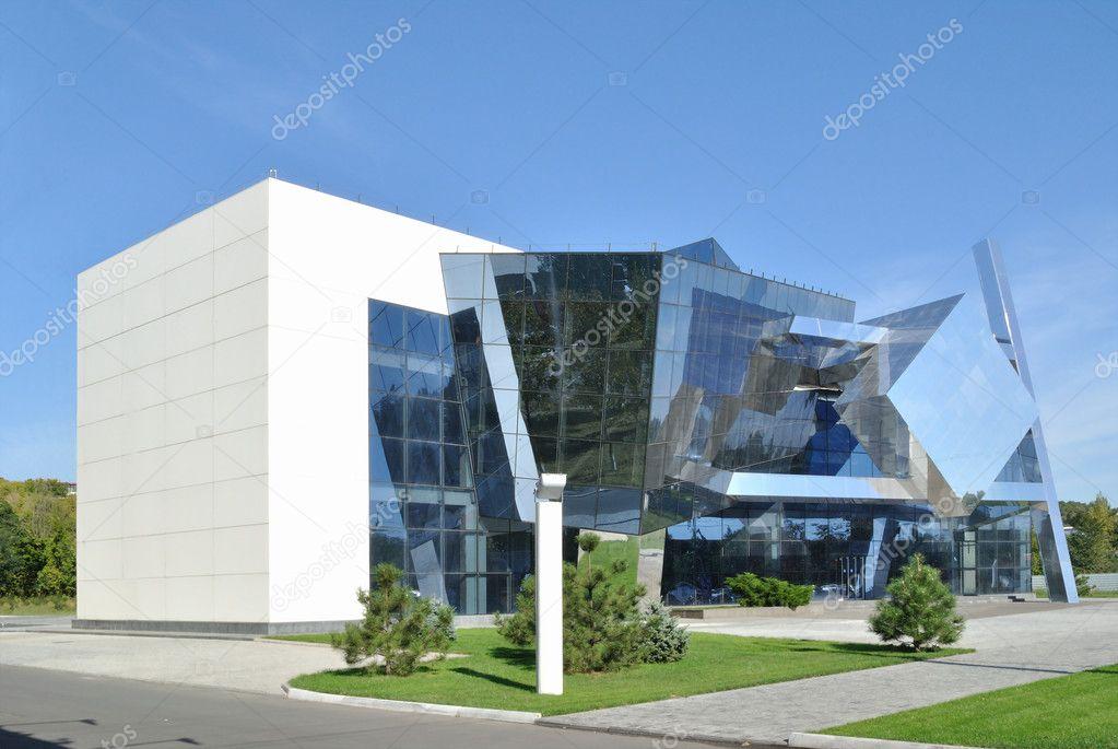 Exemplet av kubismen i modern arkitektur stockfotografi - Cubismo arquitectura ...